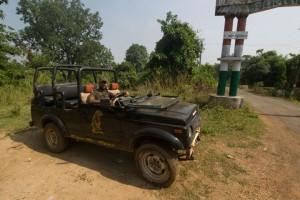 Nagzira Safari Gates